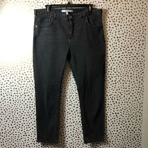 & OTHER STORIES grey straight leg jeans SIZE 29